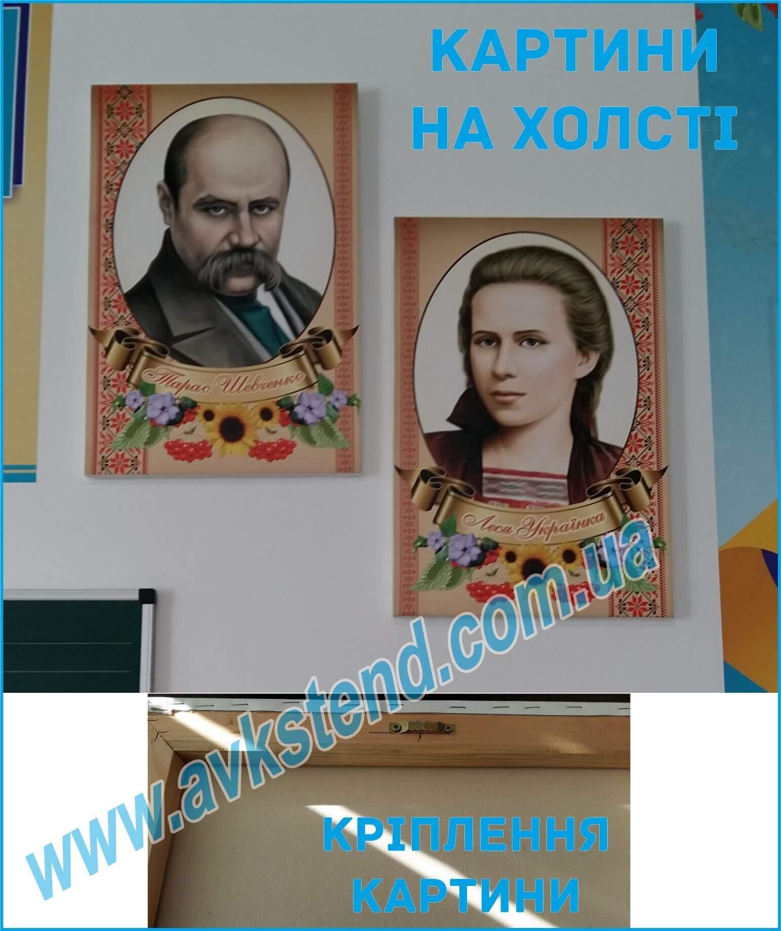 Картини на холсті, портрети