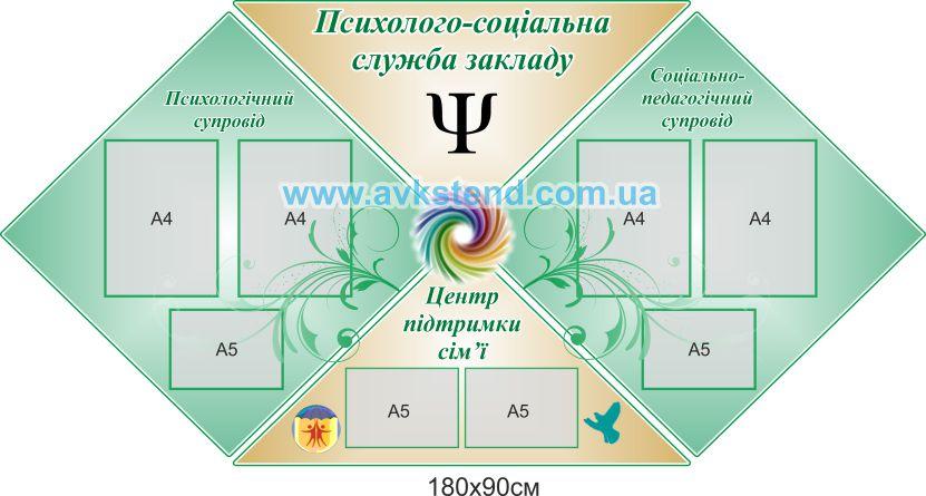 адміністративні стенди, стенды Черновцы, администрационные, Психологічний, стенды по психологии