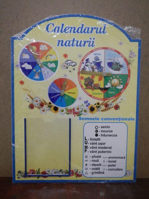 Календар природи румунською мовою