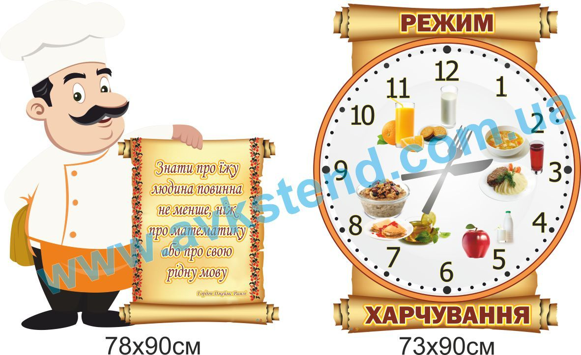 стенды для школьной столовой купить, стенды для школьной столовой заказать, стенди для шкільної їдальні купити, стенди для шкільної їдальні замовити, Україна, Украина,