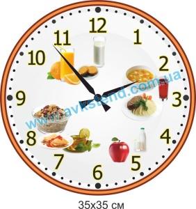 годинник для ДНЗ, ЗНЗ, ЗОШ, гімназії, ліцею, ВНЗ, школи, садочка, часы для ДОУ, СНО, СОШ, гимназии, лицея, вуза, школы, садика, у їдальню, в столовую